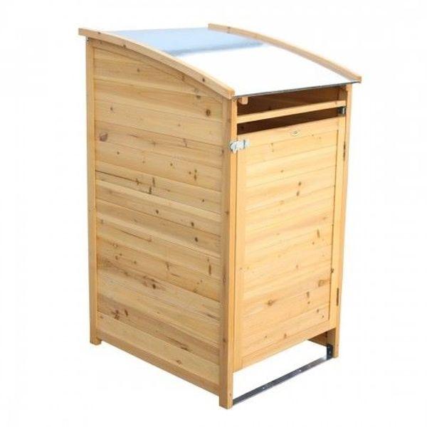 Mülltonnenbox HABAU 240 Liter Holz