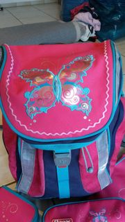 Schulranzenset Step by Step Butterfly