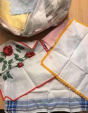 Stoff Taschentücher 100 stk