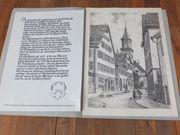 2 Bleistiftzeichnungen Hermann Kuhn 1921