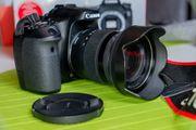 Canon 70D Zubehörset und OVP