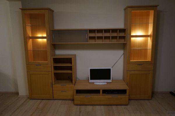 Wohnwand holzoptik  Schöne Wohnwand Holzoptik in Alling - Wohnzimmerschränke, Anbauwände ...