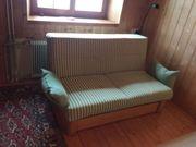 Sofa verschenken mit Bettfunktion