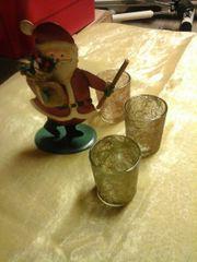 Weihnachtsmann/Kerzenhalter