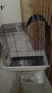 Neuwertiger Vogelkäfig 64X75X40 cm