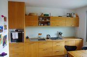 Einbauküche, Vollholz Rotbuche,