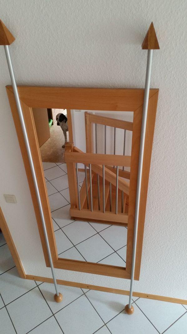 Spiegel Aus Buche Holz Echtholzfurnier Modern Neuwertig Np 398