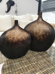 Vasen braun- beige