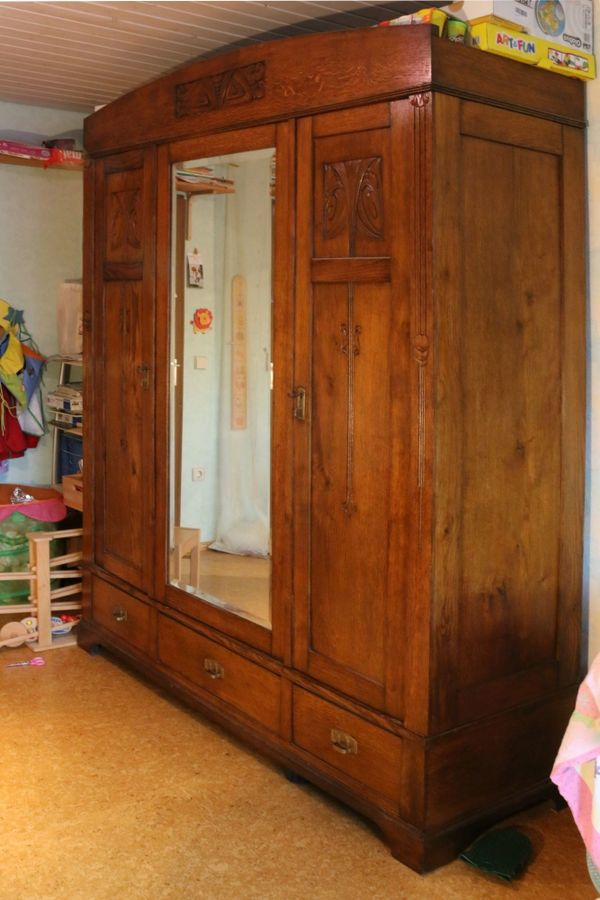 Jugendstil Schrank kaufen / Jugendstil Schrank gebraucht - dhd24.com