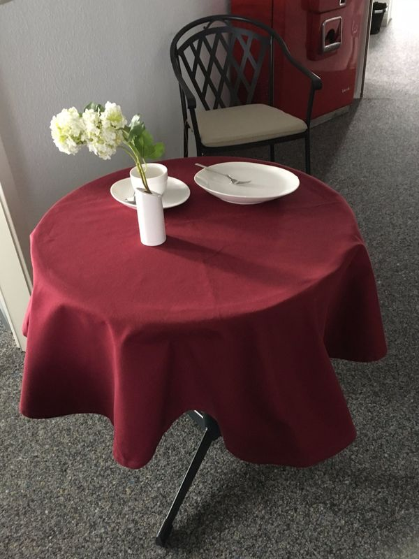 tischdecke rund gebraucht kaufen nur 3 st bis 70 g nstiger. Black Bedroom Furniture Sets. Home Design Ideas