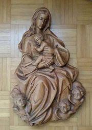 Madonna aus Holz