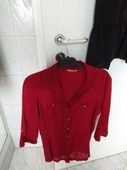 schöne rote Bluse von Orsay