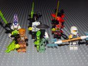 6 Ninjago Minifiguren