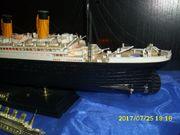Titanic Model Innenbeleuchtet,