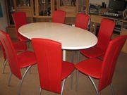 Esszimmer, 8 Stühle,