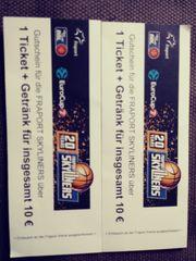2 Gutscheine für Basketball Fraport