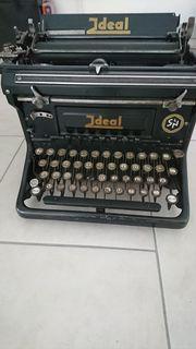 Schreibmaschine Ideal alt