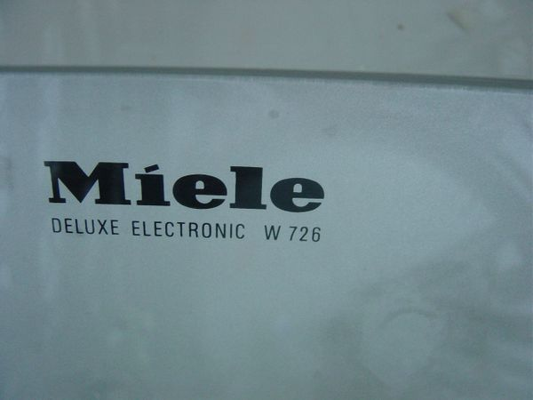 Miele waschmaschine deluxe electronic w in seeshaupt