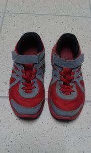 Nike Kinderschuhe Klettverschluss rot Größe