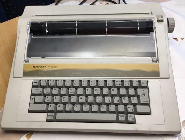 elektrische Schreibmaschine Sharp » Büromaschinen, Bürogeräte