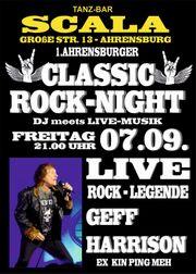 Classic Rock-Night feat Geff Harrison