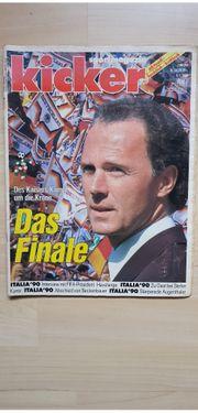 Kicker Sportmagazin 9 7 1990