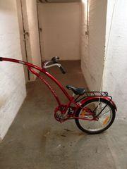 Fahrradnachläufer von Adams -