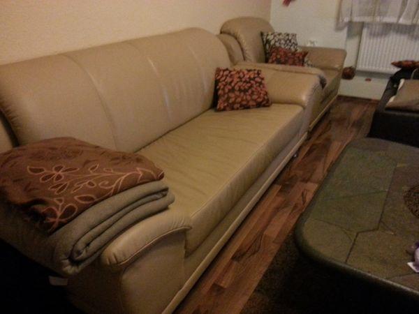 Zweisitzer Inkl Sessel Leder In Mannheim Polster Sessel Couch