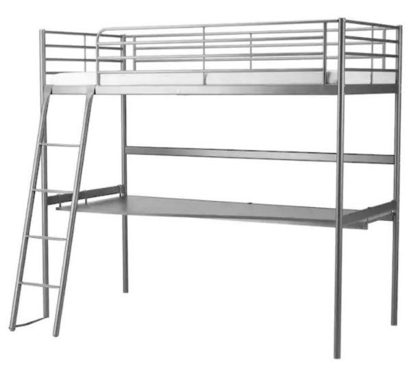 Kinderzimmer junge ikea hochbett  IKEA Hochbett mit Schreibtisch in Landau - Kinder-/Jugendzimmer ...