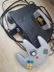 Nintendo 64 + Controller