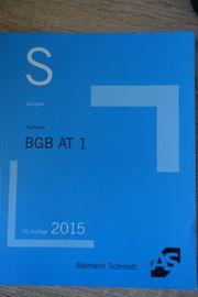 BGB AT 1 Alpmann Schmidt