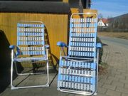 2 Camping Klappsessel