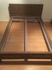 rattanbett schoenes haushalt m bel gebraucht und neu. Black Bedroom Furniture Sets. Home Design Ideas