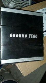 Endstufe ground Zero