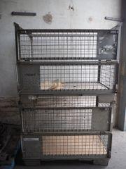 Gitterbox Holz Eurogitterbox