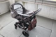 Kinderwagen mit Babywanne von 0
