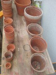 56 St Versch Gebrauchte Tonpflanztöpfe