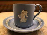 Espresso Tasse Wedgwood jaspisblau