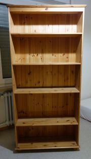 Bücherregal Kiefer Massivholz