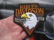 Aufnäher Aufbügler Patch Harley Davidson