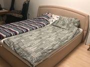 POLSTERBETT mit Bettkasten 210x200