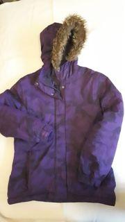 Violette Winterjacke für Mädchen von