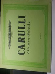 Gitarrenschule F Carulli Neu
