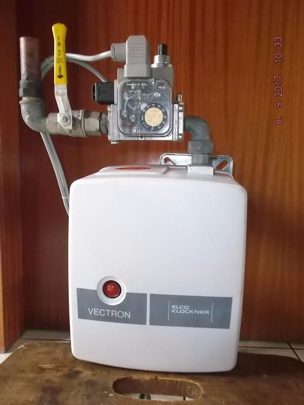 Gasbrenner ELCO KLÖCKNER » Öfen, Heizung, Klimageräte