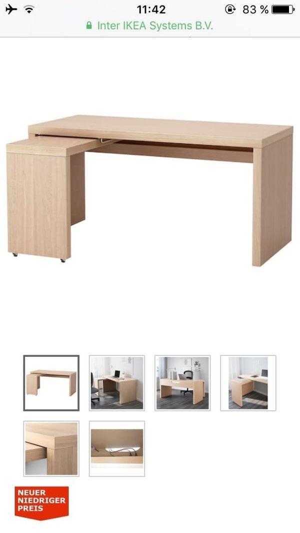 Ikea Malm Schreibtisch In Attenkirchen Ikea Mobel Kaufen Und