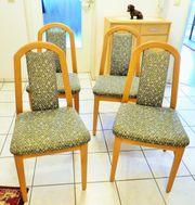 4 Wohnzimmer-Stühle,