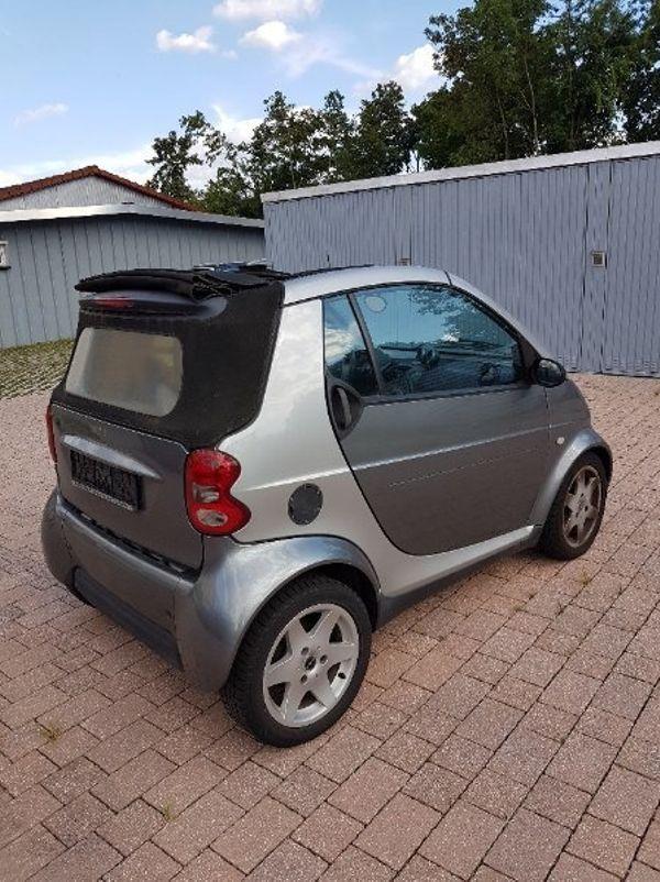 smart cabrio defekt in bad sch nborn smart kaufen und. Black Bedroom Furniture Sets. Home Design Ideas