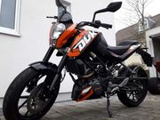KTM 125 Duke mit ABS