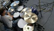 Schlagzeug-Aufnahmen für