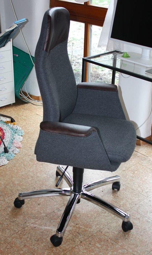 Bürostuhl Drehstuhl Schreibtischstuhl Chefsessel retro Topstar Air ...